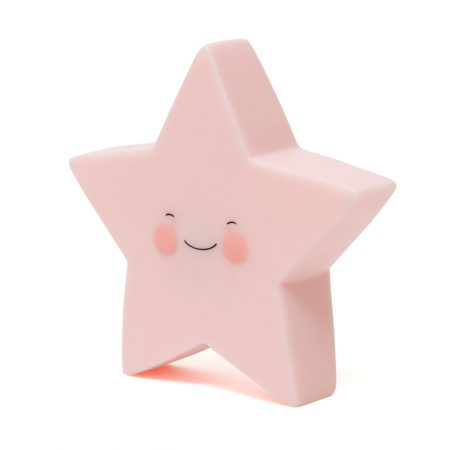 Petit Monkey Nachtlampje Star Pink