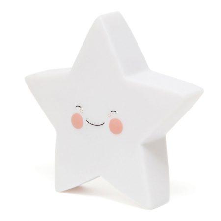 Petit Monkey Nachtlampje Star White