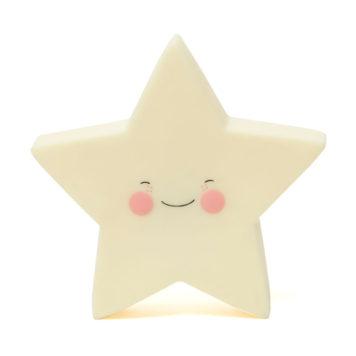 Petit Monkey Nachtlampje Star Yellow