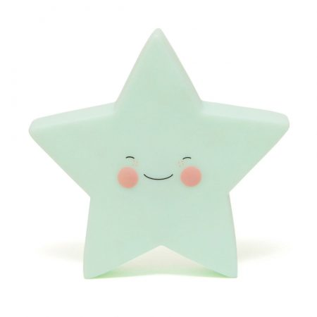 Petit Monkey Nachtlampje Star mint