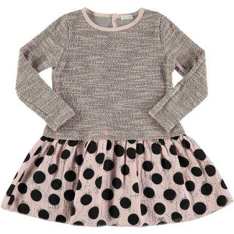 Picnik Dress Mix Pink Dots