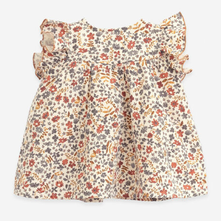 Play Up Cotton Dress Flowers