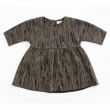 Play Up Dress Jacquard Walnut