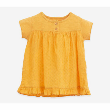 Play Up Dress with Buttons Sunflower