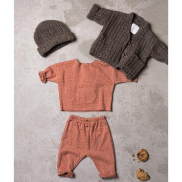 Play Up Jacquard Sweater Flakes Madalena