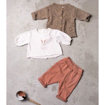 Play Up Jacquard Trousers Flakes Madalena