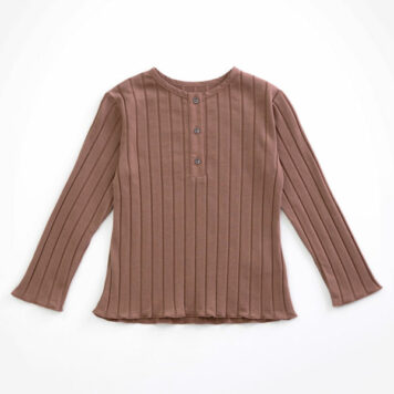 Play Up Longsleeve Rib Purplewood