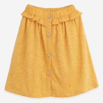 Play Up Mixed Skirt Buttons Sunflower