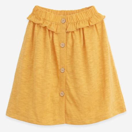 Play Up Mixed Skirt Buttons Sunflower