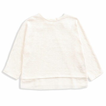 Play Up Mixed Sweater Natural