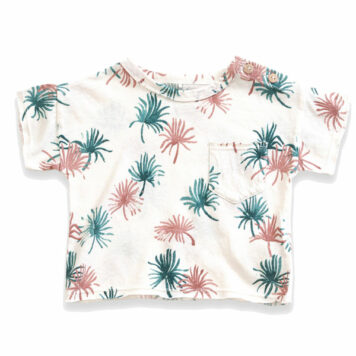 Play Up Printed Flamé T-shirt Pearl