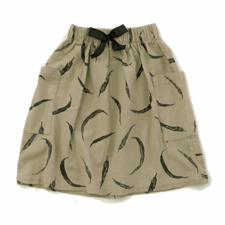 Play Up Skirt Woven Leaves