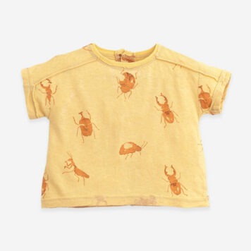 Play Up T-shirt Botany Bugs Straw
