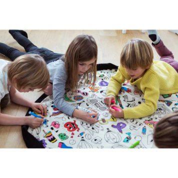 Play&Go speeltapijt-opbergzak Color My Bag van OMY