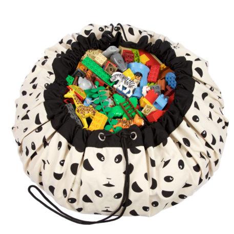 Play&Go speeltapijt-opbergzak Panda van Eef Lillemor