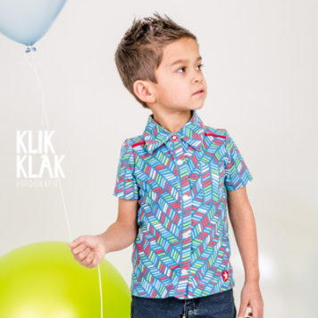 Kik Kid hemd Keper Blue