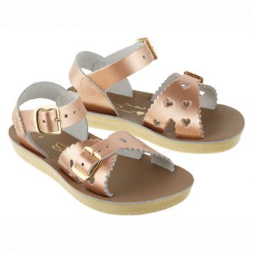 Salt Water Sandal Sweetheart Rose Gold
