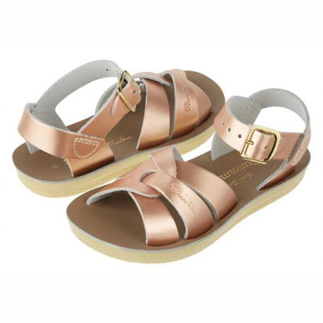 Salt Water Sandal Swimmer Rose Gold