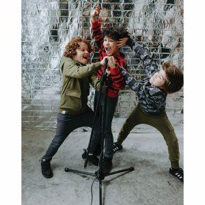 Six Hugs & Rock 'n Roll Hoodie Take a Walk on the Wild Side