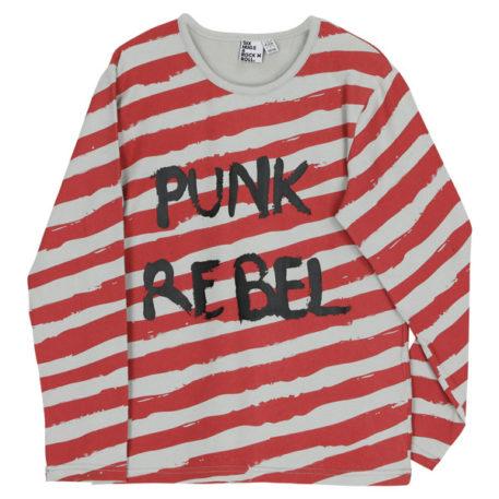 Six Hugs & Rock'n Roll Longsleeve Punk Rebel