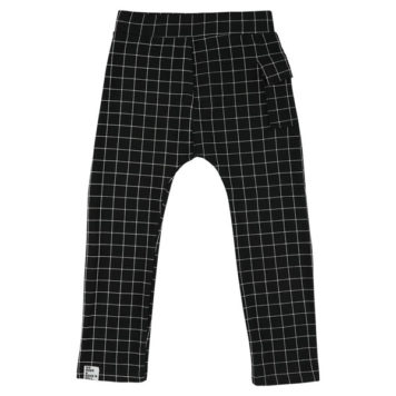 Six Hugs & Rock'n Roll Sweatpants Black Lines