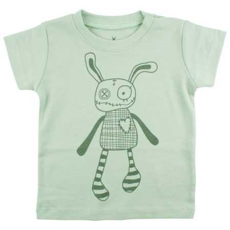 Small Rags Eddy T-shirt Aqua Gray