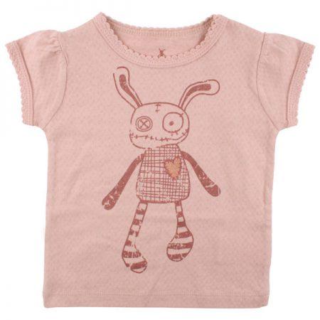 Small Rags Ella T-shirt Misty Rose