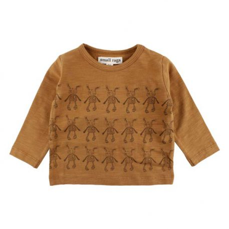 Small Rags Longsleeve Hope Bone Brown