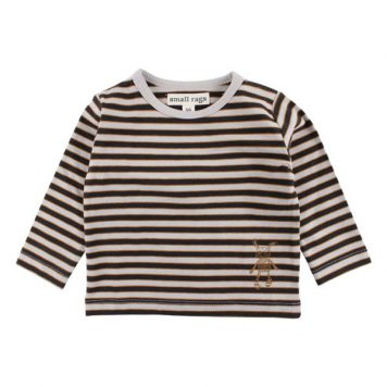 Small Rags Longsleeve Stripe Dove