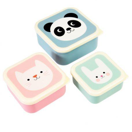 Snackdoosjes Panda - Cat - Rabbit