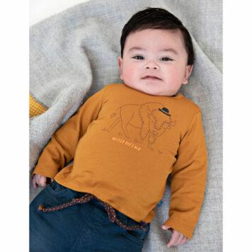 Someone Baby Longsleeve Noah Dark Oker
