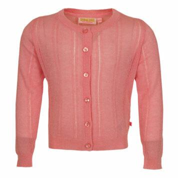 Someone Cardigan Home Pink Lurex