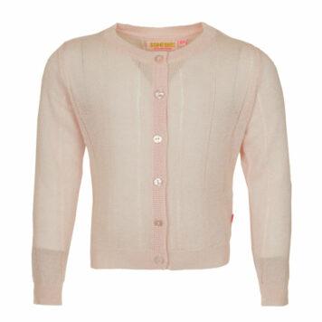 Someone Cardigan Home Soft Pink Lurex