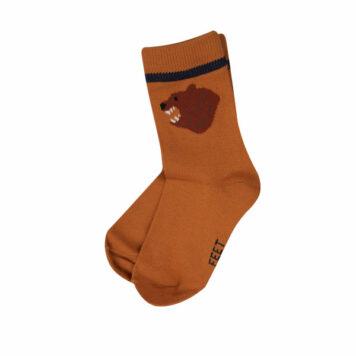 Someone Feet Kousen Bear 2 Paar