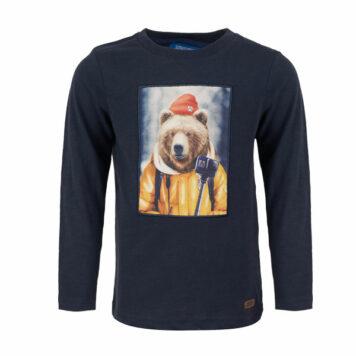 Someone Longsleeve Bear Navy
