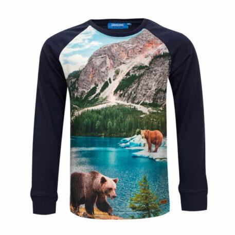 Someone Longsleeve Hike Mountain Bear