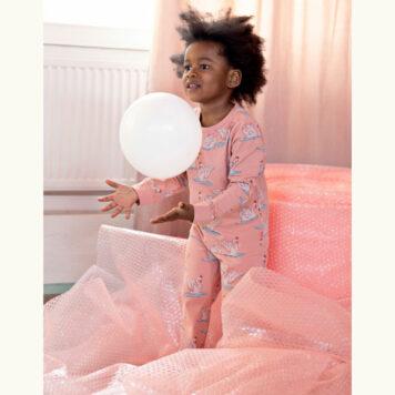 Someone Pyama Snooze Swanlake Light Pink