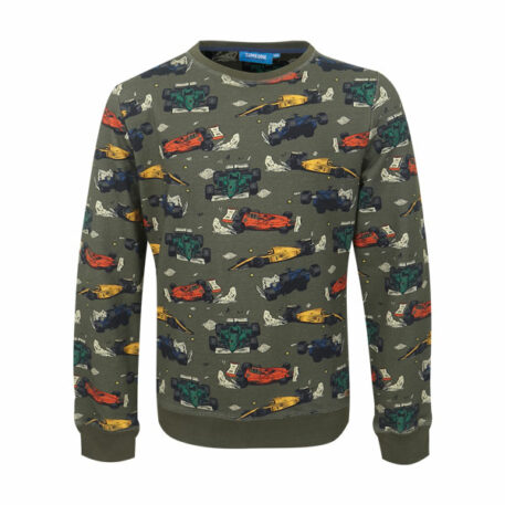 Someone Sweater Lewis Race Khaki