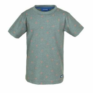 Someone T-Shirt Rajah Tiger Green Melange