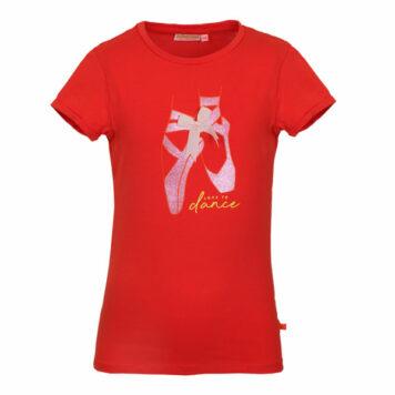 Someone T-shirt Caroline Ballet Red