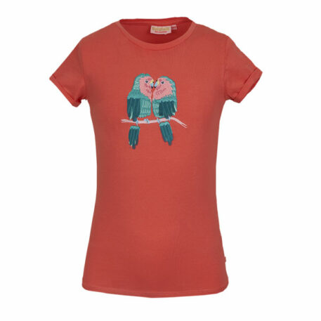 Someone T-shirt Macaw Coral