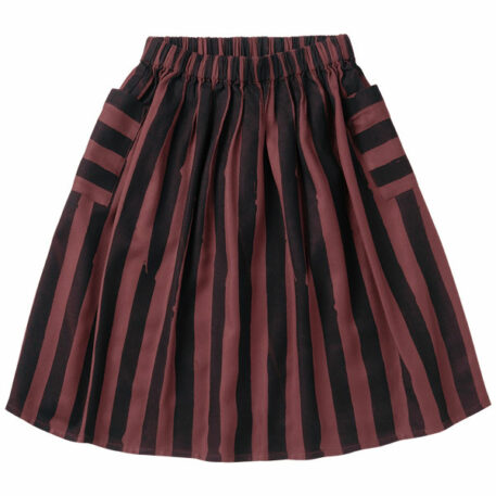 Sproet & Sprout Midi Skirt Painted Stripes