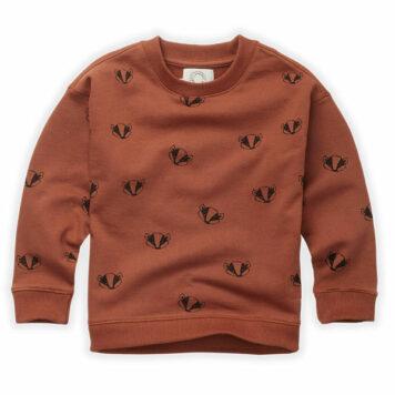 Sproet & Sprout Sweatshirt Badger Print