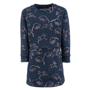 Stones&Bones Dress Jodie Cats Midnight
