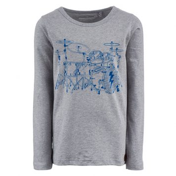 Stones&Bones Longsleeve Skipper On Drums
