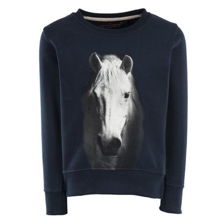 Stones&Bones Sweater Violeta Horse Navy