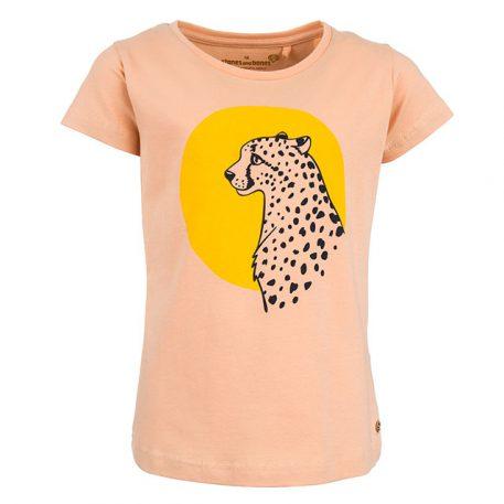 Stones&Bones T-shirt Camille Leopard Tan