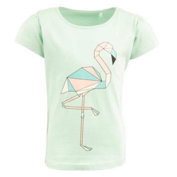 Stones&Bones T-shirt Florene Geo Flamingo Ice Blue