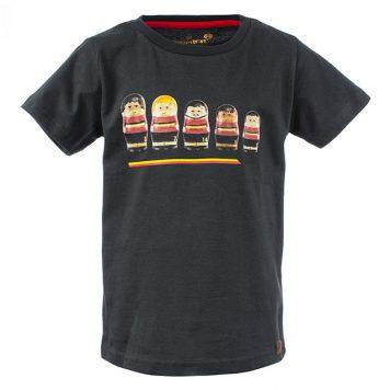 Stones&Bones T-shirt Go Belgium Graphite