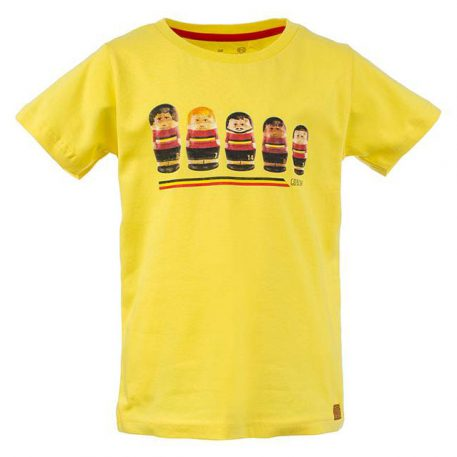 Stones&Bones T-shirt Go Belgium Yellow